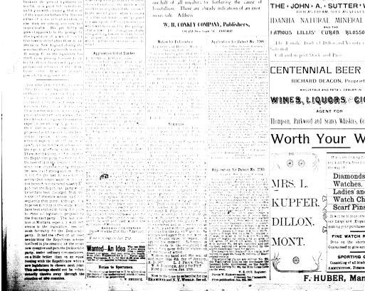 The Dillon Examiner (Dillon, Mont ) 1891-1962, January 27, 1897