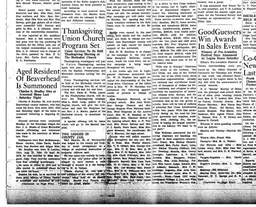The Dillon Tribune (Dillon, Mont ) 1881-1941, November 16, 1939