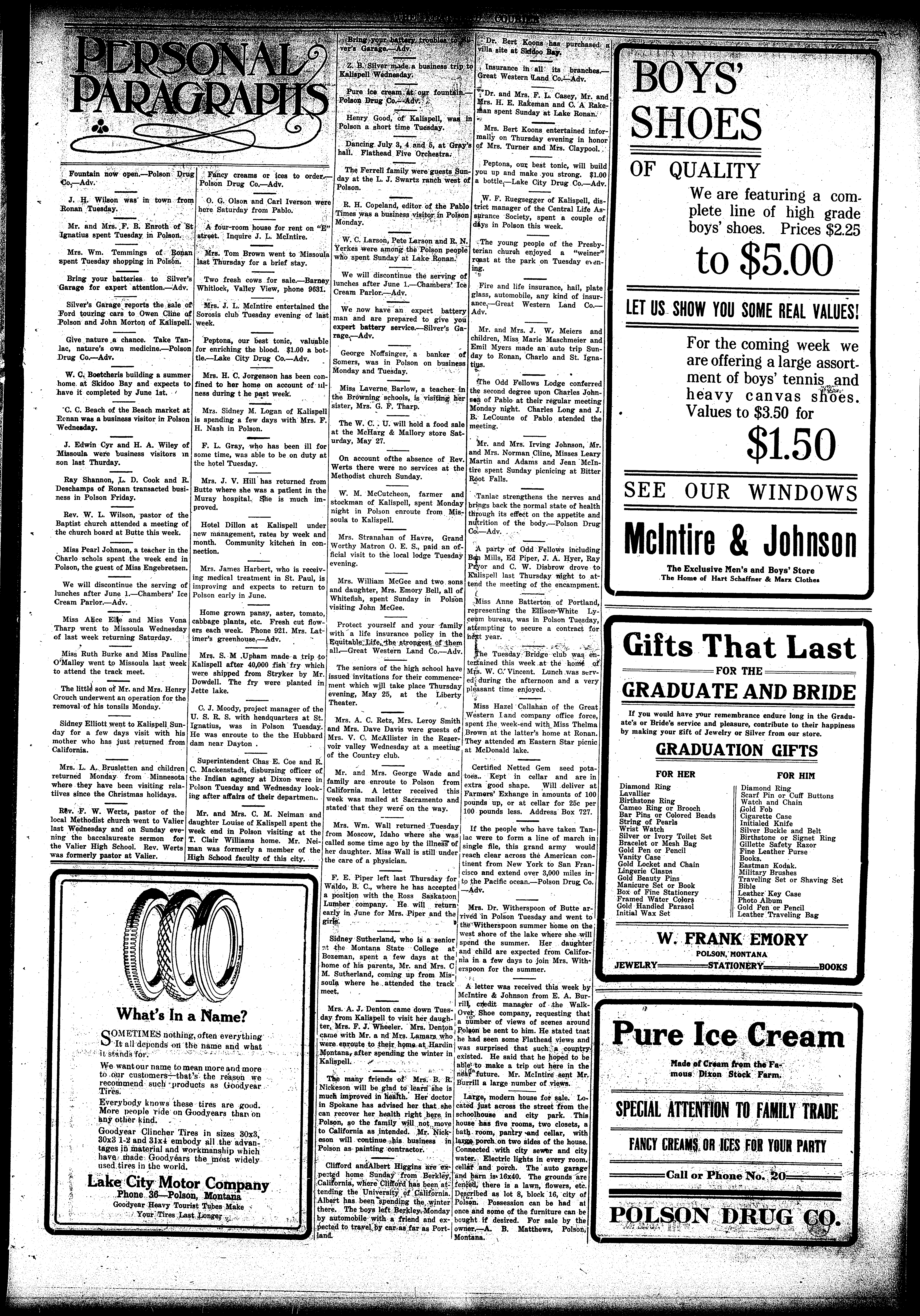 The Flathead Courier (Polson, Mont ) 1910-current, May 18